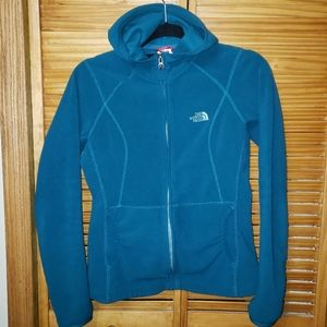 The North Face Fleece TKA Hooded Small Jacket